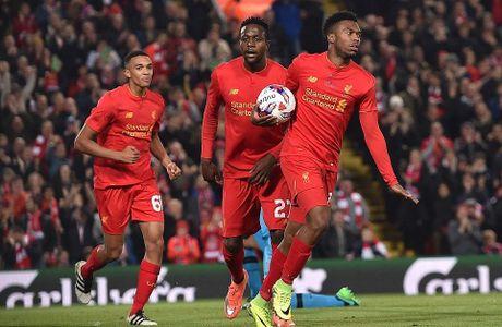 Liverpool da bay Tottenham, vao tu ket Cup Lien doan Anh - Anh 8