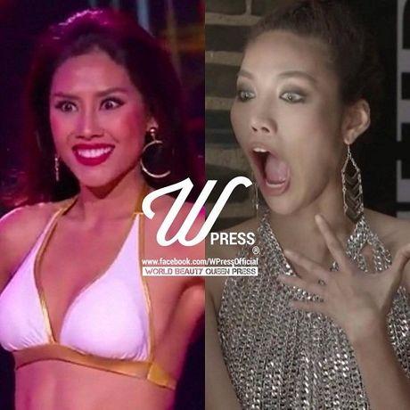 Khan gia het hon vi man tron mat dien bikini cua Nguyen Thi Loan - Anh 1