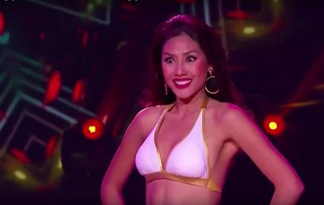 Nguyen Thi Loan tron mat, lac vai gay tranh cai tai phan thi bikini - Anh 1