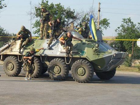 Nhom tiep xuc ve Ukraine ung ho lap khu vuc an ninh o Donbass - Anh 1