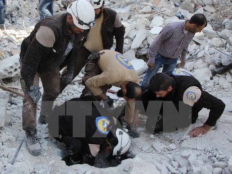 Nga khang dinh khong lien quan toi vu khong kich truong hoc o Syria - Anh 1