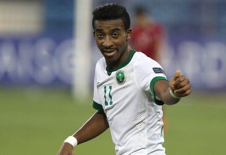 U19 Saudi Arabia vao chung ket sau chien thang 'sieu dien ro' - Anh 1