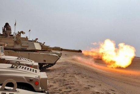 Giap sieu manh khong cuu duoc tang Abrams - Anh 1