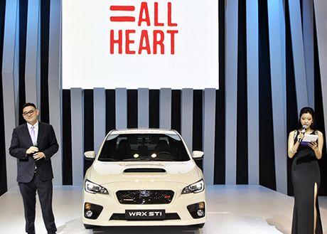 Subaru trinh lang o to nhan dien giong noi bang Siri - Anh 1