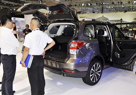 Subaru trinh lang o to nhan dien giong noi bang Siri - Anh 2