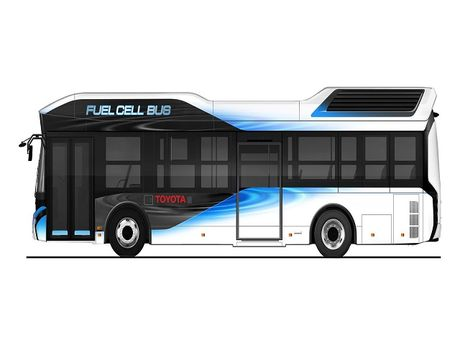 Toyota Fuel Cell Bus se trinh lang nam 2017 - Anh 1