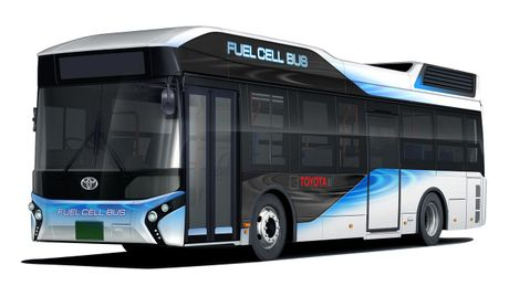 Toyota Fuel Cell Bus se trinh lang nam 2017 - Anh 2