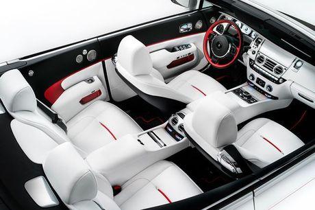 Rolls-Royce ra mat bo 3 xe sieu sang Dawn ban dac biet - Anh 4