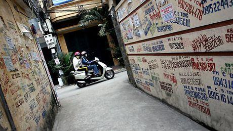 Xu ly 'rac' tren tuong: Viec kho cang can ben bi - Anh 1