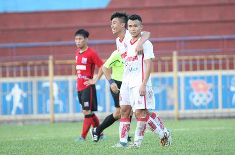 TRUC TIEP U.21 Bao Thanh Nien: Nhung dua tre nha bau Duc dan U.21 Long An 3-0 - Anh 1
