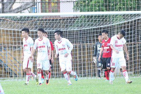 TRUC TIEP U.21 Bao Thanh Nien: Nhung dua tre nha bau Duc dan U.21 Long An 3-0 - Anh 2