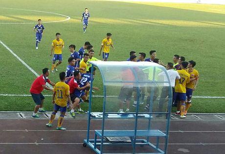TRUC TIEP U.21 Bao Thanh Nien: Nhung dua tre nha bau Duc dan U.21 Long An 3-0 - Anh 3