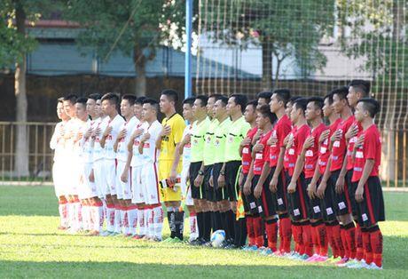 TRUC TIEP U.21 Bao Thanh Nien: Nhung dua tre nha bau Duc dan U.21 Long An 3-0 - Anh 5