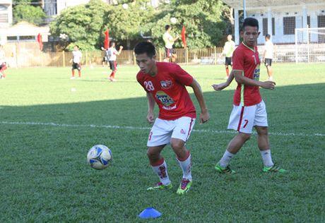 TRUC TIEP U.21 Bao Thanh Nien: Nhung dua tre nha bau Duc dan U.21 Long An 3-0 - Anh 6