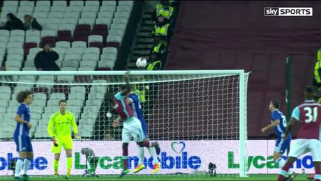 Video ban thang: West Ham 2-1 Chelsea (Vong 4 Cup lien doan Anh) - Anh 1