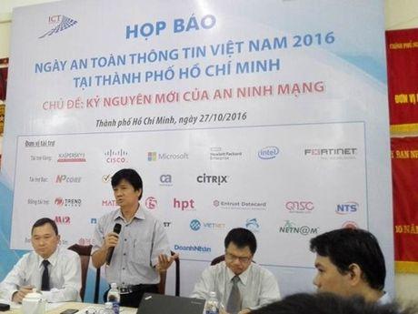 Sap dien ra Ngay An toan thong tin Viet Nam 2016 - Anh 1