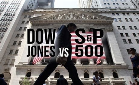 S&P 500 giam, Dow Jones tang - Anh 1