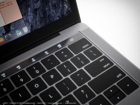 MacBook Pro moi lo hinh anh thuc te truoc gio G - Anh 3