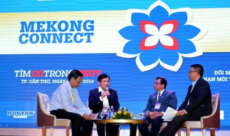 Dien dan Mekong Connect – CEO Forum 2016: Nan giai van nan moi truong va hoi nhap - Anh 1