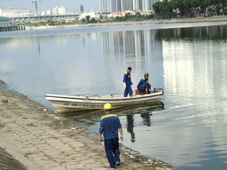 Khong phat hien them ca chet o ho Linh Dam - Anh 2