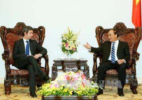 Thu tuong Nguyen Xuan Phuc tiep Bo truong Tu phap Italy - Anh 1