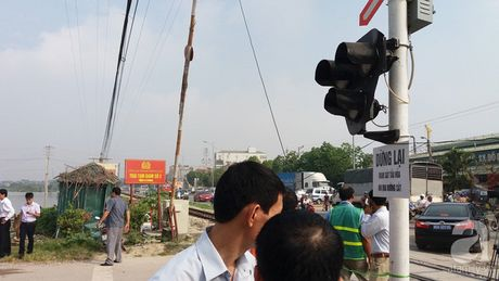 Ha Noi: 17 km duong sat, co 167 diem co nguy co xay ra tai nan cao - Anh 2