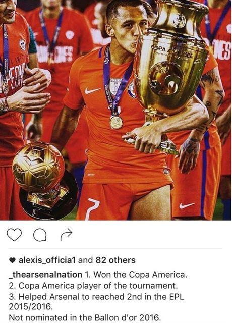 Sanchez noi doa vi khong duoc 'ngoi chung mam' voi Messi - Anh 2