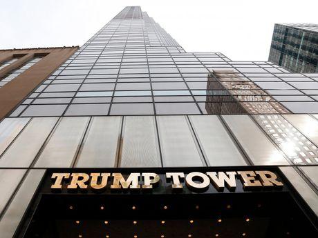 Co gi dac biet ben trong toa thap cua Donald Trump o trung tam New York? - Anh 1