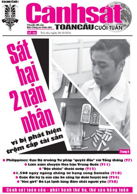 Don doc Chuyen de Canh sat toan cau cuoi tuan so 182 - Anh 1