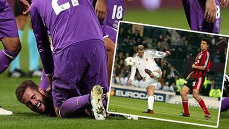 Real thang dam, Zidane me man sieu pham cua hoc tro - Anh 1