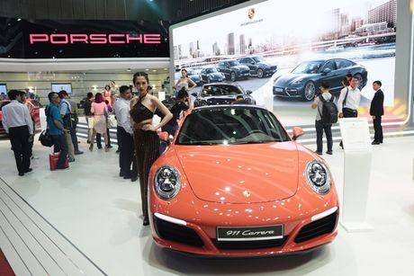 Chiem nguong dan sieu xe bac ty cua Porsche tai VIMS 2016 - Anh 2