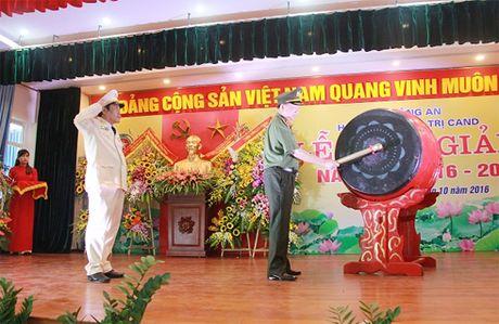 Xung dang la noi dao tao sy quan chinh tri cua luc luong CAND - Anh 1