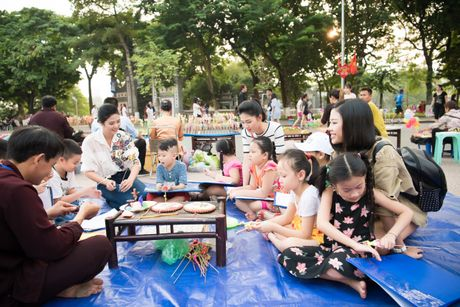 Hoa hau Ngoc Han, A hau Thanh Tu di day ve cho tre em - Anh 5