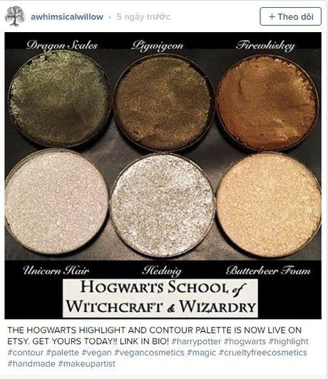 Bien hoa mua Halloween voi 5 my pham lay cam hung tu Harry Potter - Anh 3