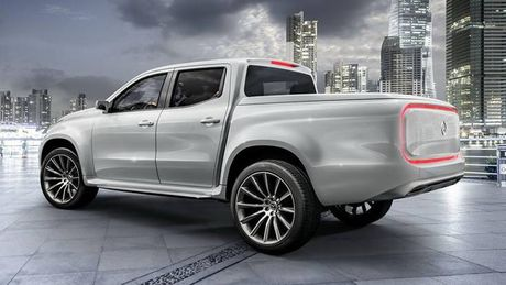 Ban tai cao cap Mercedes-Benz X-class chinh thuc trinh lang - Anh 10