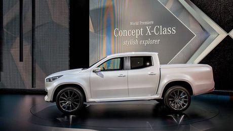 Ban tai cao cap Mercedes-Benz X-class chinh thuc trinh lang - Anh 2