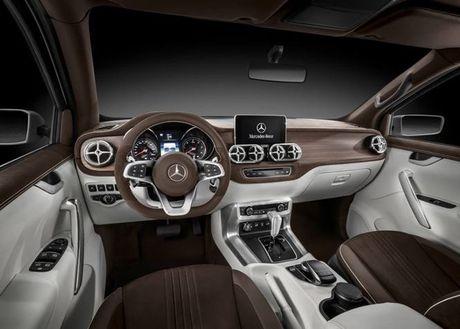 Ban tai cao cap Mercedes-Benz X-class chinh thuc trinh lang - Anh 3