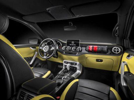 Ban tai cao cap Mercedes-Benz X-class chinh thuc trinh lang - Anh 4