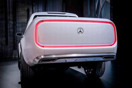Ban tai cao cap Mercedes-Benz X-class chinh thuc trinh lang - Anh 5