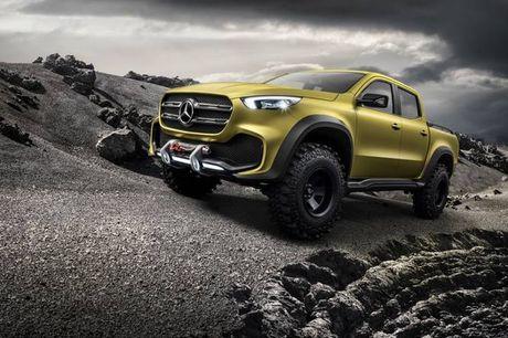 Ban tai cao cap Mercedes-Benz X-class chinh thuc trinh lang - Anh 9
