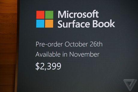 Microsoft Surface Book va Studio ra mat cuc an tuong - Anh 6