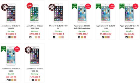 iPhone 6s lock gia re ngap ke Viet: Mua hay khong? - Anh 2