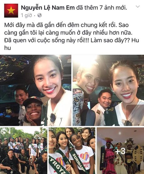 Nhung hinh anh moi nhat cua Nam Em tai Miss Earth 2016 - Anh 1