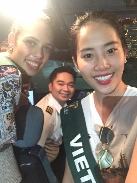 Nhung hinh anh moi nhat cua Nam Em tai Miss Earth 2016 - Anh 4