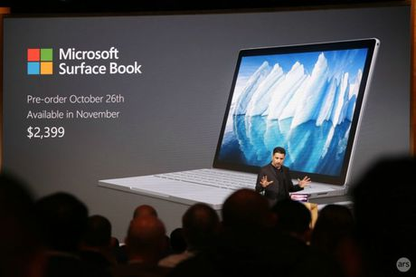 Microsoft ra mat Surface Book i7, gia 2.400 USD - Anh 1