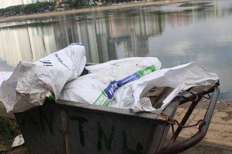 Ha Noi: Ca chet bat thuong tai ho ban dao Linh Dam - Anh 2