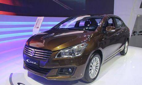 Suzuki Ciaz gia 580 trieu – doi thu Toyota Vios tai Viet Nam - Anh 1