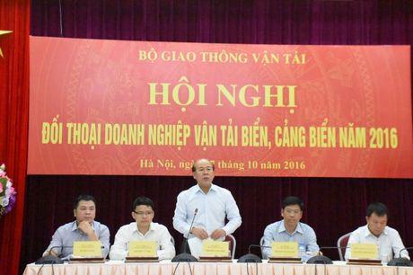 Thao go kho khan cho cac doanh nghiep van tai bien va cang bien 2016 - Anh 1