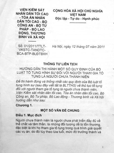 Vu 'Co y gay thuong tich' o Ca Mau: Bi cao dong loat keu oan? (2) - Anh 1