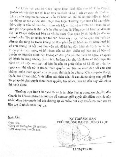 Ban an 20 nam khong thi hanh duoc: Chuyen TANDTC giai quyet - Anh 2